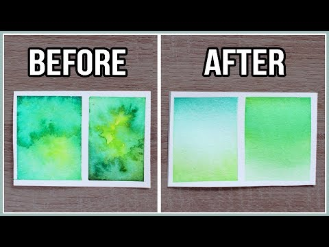 DOs & DON'Ts: Watercolor Struggles / Mistakes & How to Avoid them for Beginners!