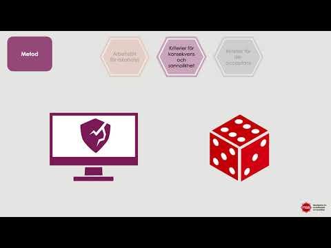 Metodstöd för systematiskt informationssäkerhetsarbete: Riskanalys