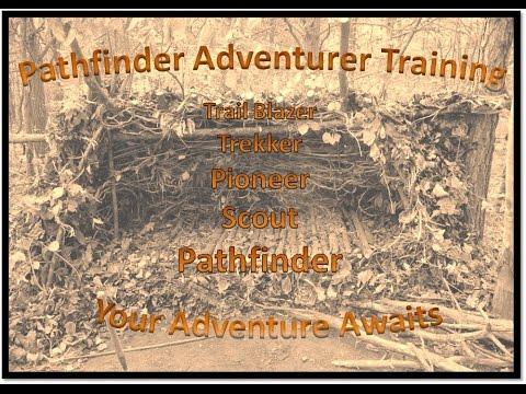 Pathfinder Youth Adventurer Training Intro
