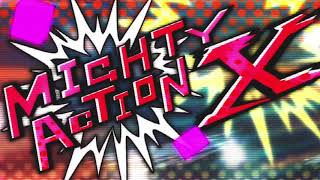 Mighy Action X,KO Fighter and Perfect Puzzle but with sounds from their IRL counterparts