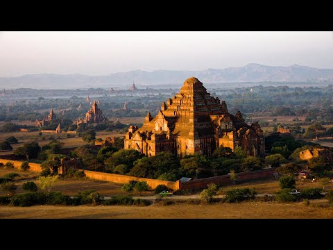 Buddhist Monuments in Myanmar in 4K Ultra HD