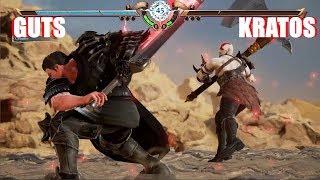 Soul Calibur 6 - Guts vs Kratos (Berserk vs God of War Character Creation)