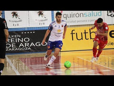 Futbol Emotion Zaragoza - ElPozo Murcia Costa Cálida Jornada 2 Temp 20-21