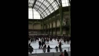 Ice ring grand palais