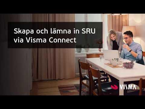Skapa och skicka SRU-filer med Visma Advisor Connect