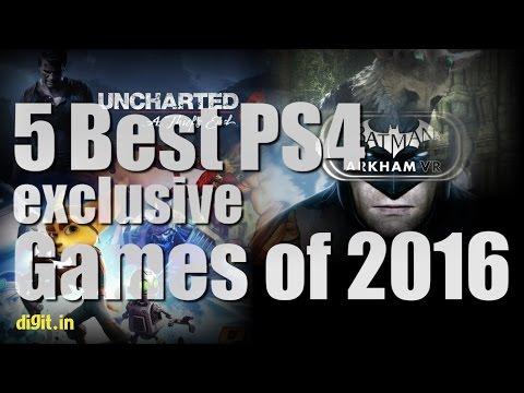 5 Best PS4 Exclusive Games of 2016  Digit.in