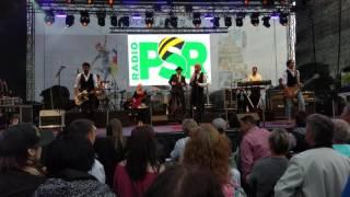 Steffen Lukas + Band live auf der Radio PSR Bühne beim Tag der Deutschen Einheit 2016 in Dresden