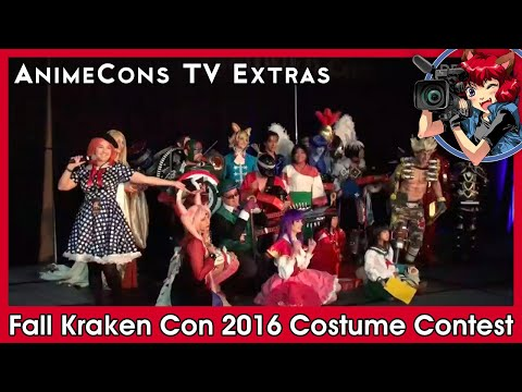 AnimeCons TV Extras - Fall Kraken Con 2016 Costume Contest