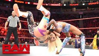 Bayley vs. Alicia Fox: Raw, Oct. 1, 2018