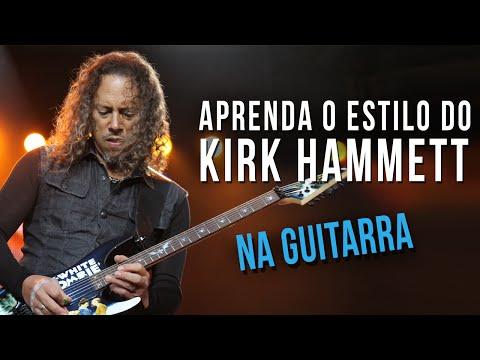 KIRK HAMMETT - ESTILO DE GUITARRA