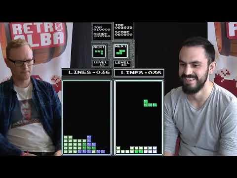 Final de Tetris organizada por Retroalba en Albanime 2019: Jonas Neubauer Vs @TBr1cks