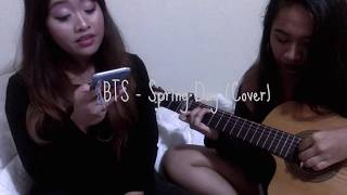 BTS - Spring Day Cover (English Lyrics by: Silv3rt3ar (Elise))