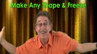 Freeze Dance | Freeze Dance Song | Make Any Shape & Freeze | Jack Hartmann