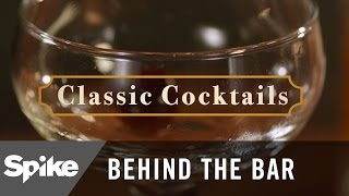 How to Make a Manhattan: 'The Legend Behind a New York Classic Cocktail' | Behind The Bar