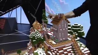 Windows 10 + HoloLens + Minecraft = Epic Gaming!
