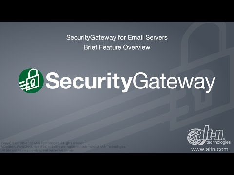 SecurityGateway for Email Servers - Version 4.5