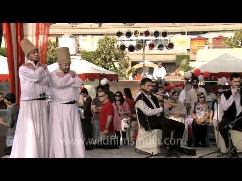 Dance Performance by Turkish Semazen