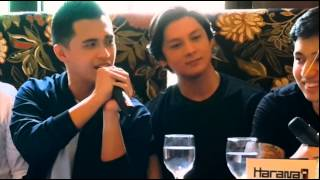 Marlo Mortel Sings Pare Mahal Mo Raw Ako at the Harana Press Conference