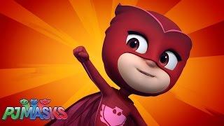 Hey Hey Owlette | Music Video |  PJ Masks | Disney Junior