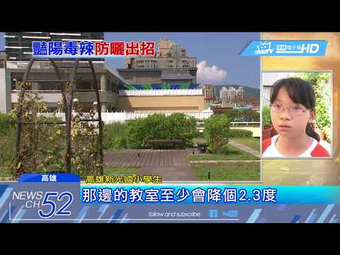 20180528中天新聞 「高雄厝」計畫蓋綠屋頂 降溫達30% - YouTube
