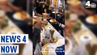 Thanksgiving on the Subway? Intrepid Riders Make it Happen | News 4 Now