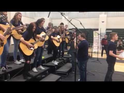 South Middle School Guitar Class