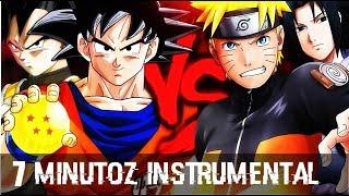 Instrumental - Naruto e Sasuke VS. Goku e Vegeta   Duelo de Titãs (7 Minutoz)