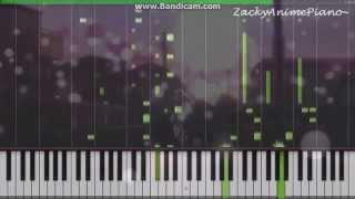 Shigatsu wa Kimi no Uso OP - Hikaru Nara (Synthesia) (Piano) (ZackyAnimePiano)