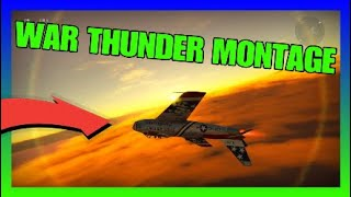 WAR THUNDER MONTAGE EDIT!!! *crazy stunts*