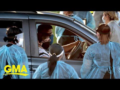 COVID-19 surge triggers testing crisis in US l GMA
