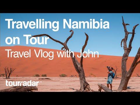 Travelling Namibia on Tour: Travel Vlog with John