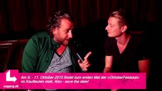 Seigi Sterkoudis im Interview   10 Jahre DISCO PARTY im Kaufleuten