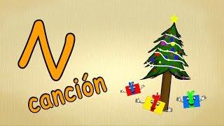 abc alphabet song en español | La letra N Cancion | canciones infantiles