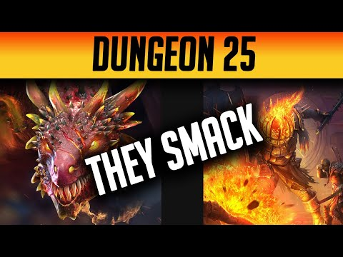Fire Knight 25 & Dragon 25 | FIRST LOOK & TEAM COMPS | Raid: Shadow Legends