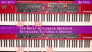 Let There Be Light - Hillsong Worship - Keyboard Tutorial