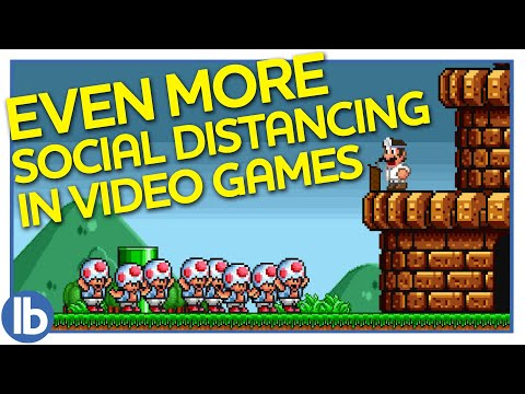 Even More Social Distancing In Videogames