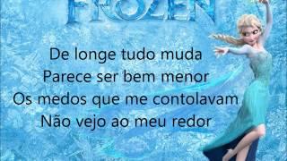 Frozen elsa livre estou letra
