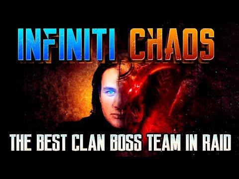 The Best Clan Boss Team in Raid Shadow Legends