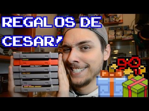 Regalos de mi amigo Cesar! || Donaciones v9