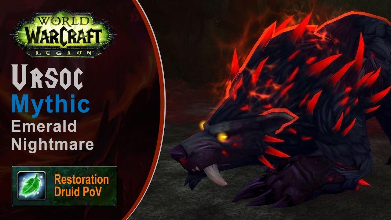 <span>[LGN] Ursoc, Mythic Emerald Nightmare, Restoration Druid PoV (Game Sounds Only)</span>