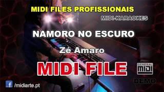 ♬ Midi file  - NAMORO NO ESCURO - Zé Amaro