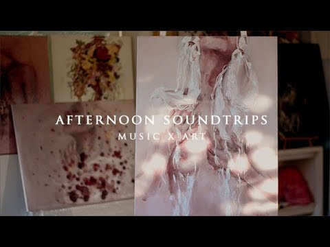 Afternoon Soundtrips ft Give Yourself To Me oil painting and Bloom by Raveena