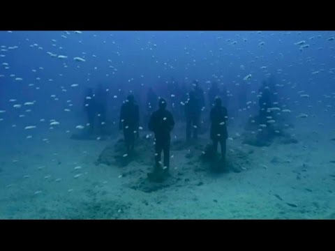 Europe's first underwater museum