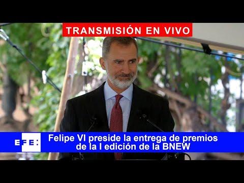 🔴📡 Felipe VI  preside la entrega de premios de la I edición de la Barcelona New Economy Week-BNEW