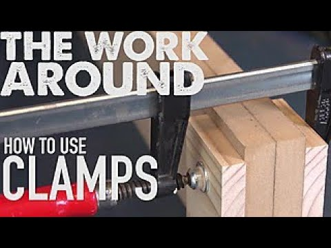 How to Use Clamps for Woodworking - The Work Around - HGTV