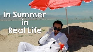 In Summer - Disney Frozen Olaf In Real Life