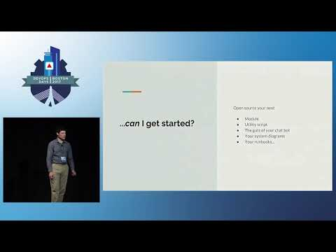DevOpsDays Boston 2017- Open Sourcing Your Infrastructure  by Tobias Macey