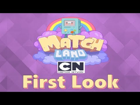 Cartoon Network Match Land - First Look - iOS/Android