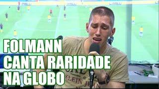 Raridade (Anderson Freire) Jackson Follmann canta ao vivo no Amistoso Brasil x Colômbia