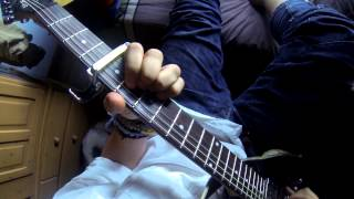 MusicFonts - The song of the sun (Mike Oldfield guitar cover)